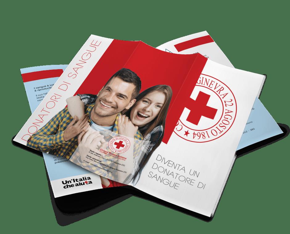 Brochure donatori di sangue - Comitato Alto Ionio Cosentino