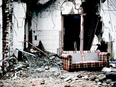 Abitazione diroccata - Terremoto - Piano di emergenza