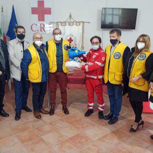 I Lions Club per la CRI: donazione di un nebulizzatore per la sanificazione