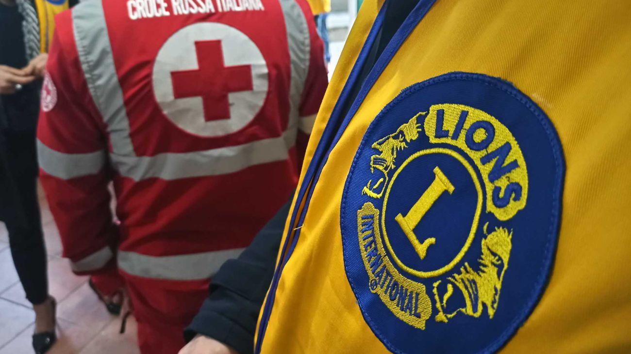Lions Club e Croce Rossa Italiana