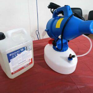 Nebulizzatore per sanificazione - Dono Lions Club Arberia