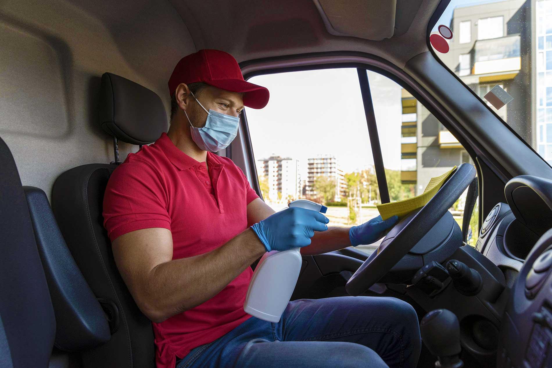 Sanificazione e pulizia automezzi