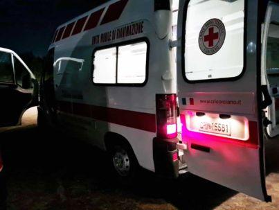 Consegna ambulanza dal Comitato di Corciano (PG)