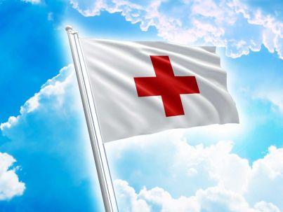 Bandiera della Croce Rossa - Emblema Croce Rossa
