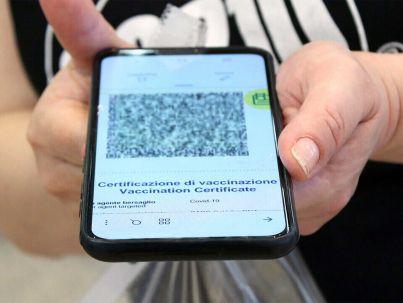 AuthCode Green Pass Smartphone