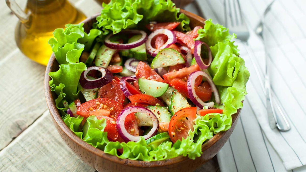 Alimentazione estiva - insalata