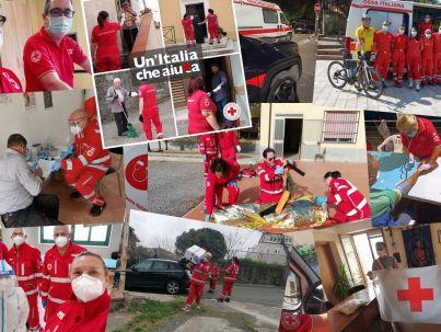 Mix foto Volontari Croce Rossa Italiana - Comitato Alto Ionio Cosentino