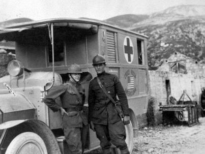 Ernest Hemingway volontario Croce Rossa